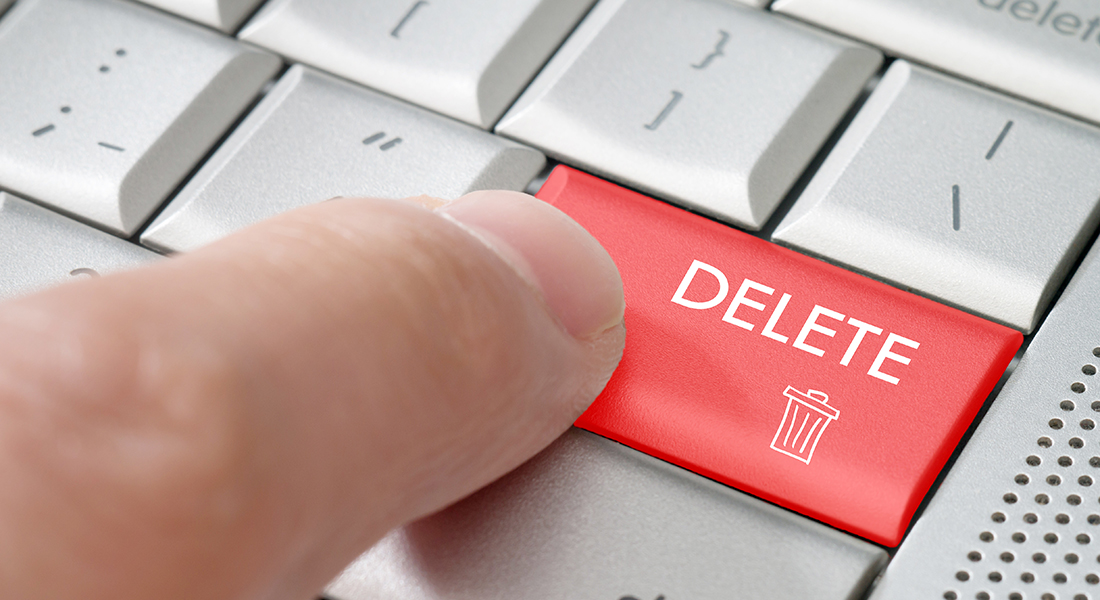delete deed notice